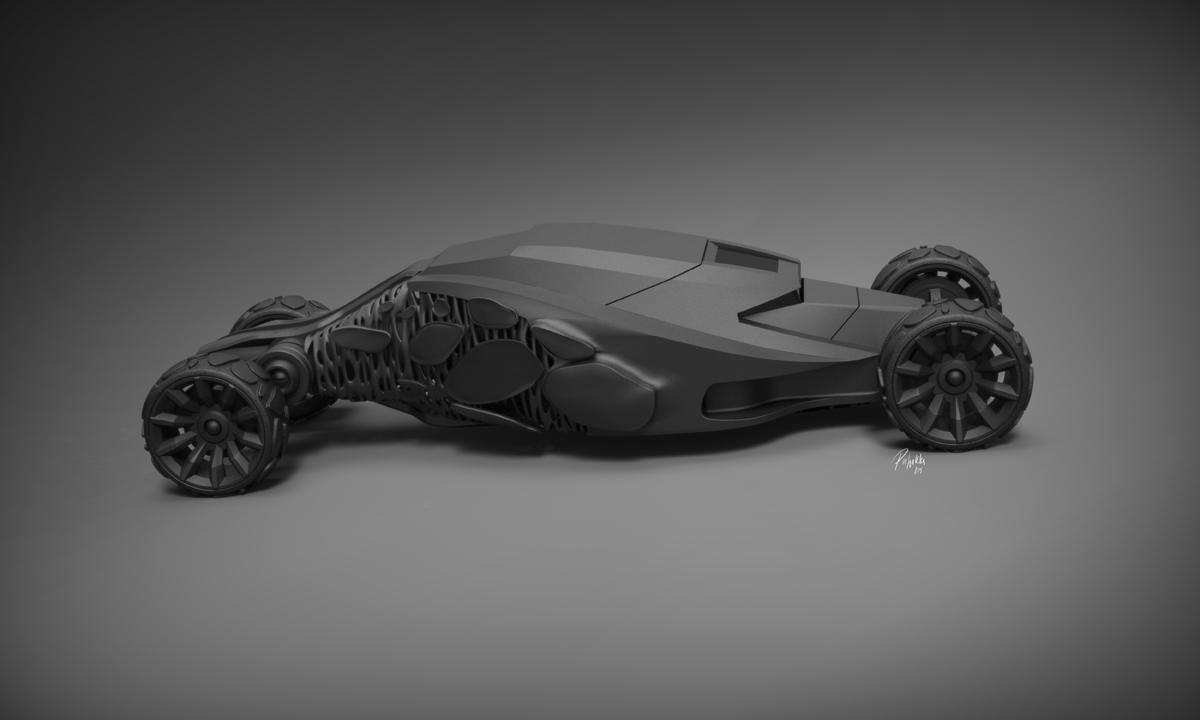 Crawler Batmobile Concept