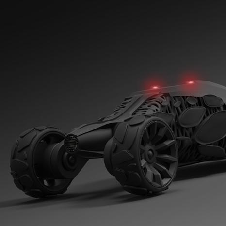 Crawler – Batmobile Concept